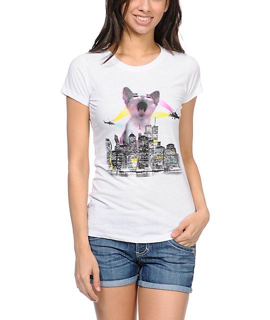 A Lab Kitty City White T Shirt Zumiez