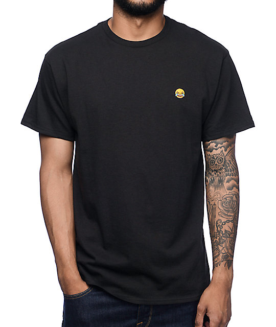 A-Lab Laughtears Black T-Shirt