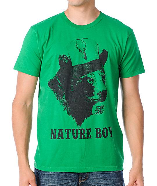 A-Lab Nature Boy Green T-Shirt