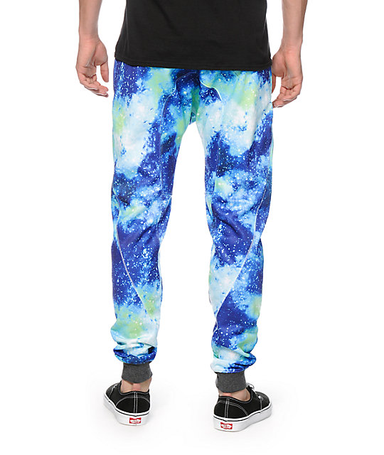 A-Lab Picasso Galaxy Sublimated Jogger Pants