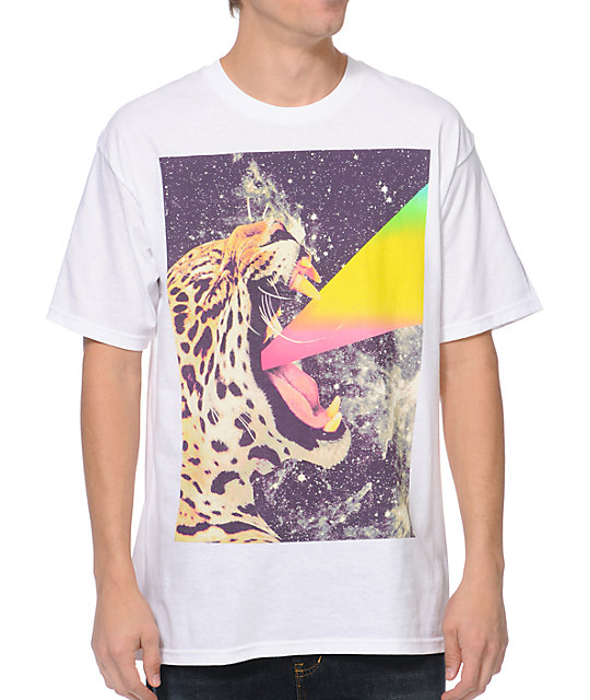 A-Lab Power Cat White T-Shirt