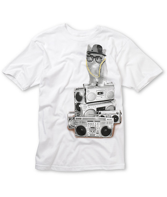 A-Lab Run DMKitty White T-Shirt