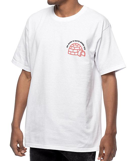 Camiseta A Save Ice lab Blanca The Y6y7gbf