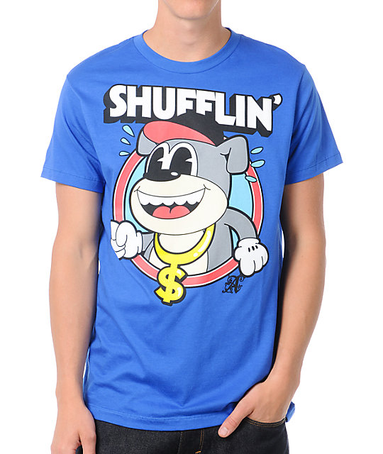 A-Lab Shufflin Blue T-Shirt