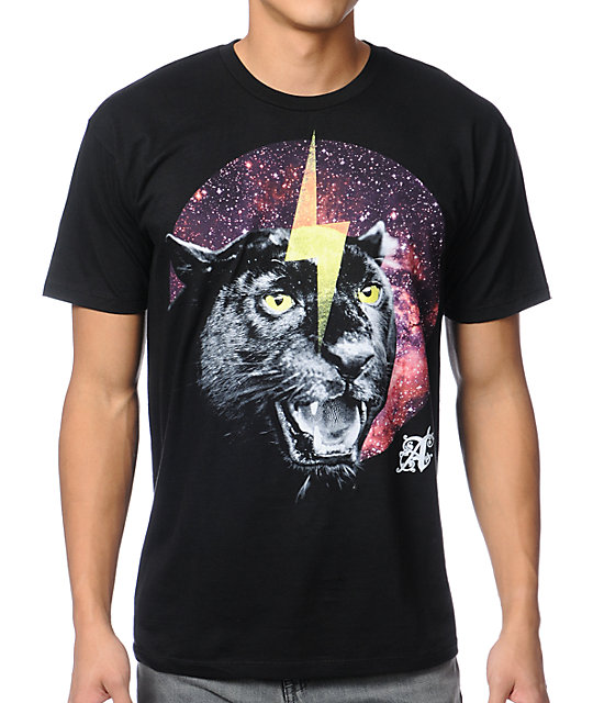 A-Lab Special Cat Black T-Shirt