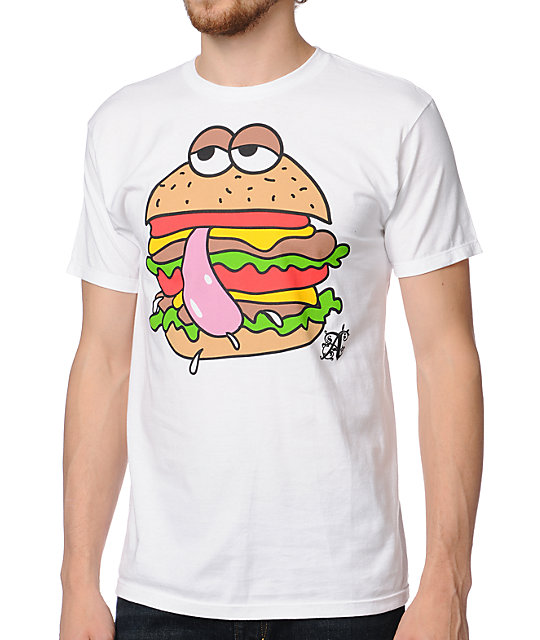 A-Lab Tasty Burger White T-Shirt
