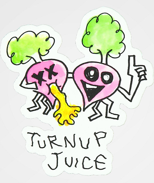 A-Lab Turnup Juice Sticker