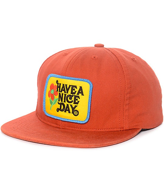 ABC Hat Co. Have a Nice Day Snapback Hat