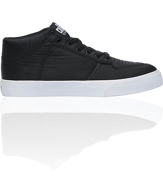 ALIFE Everybody Black Parachute Mid Shoes