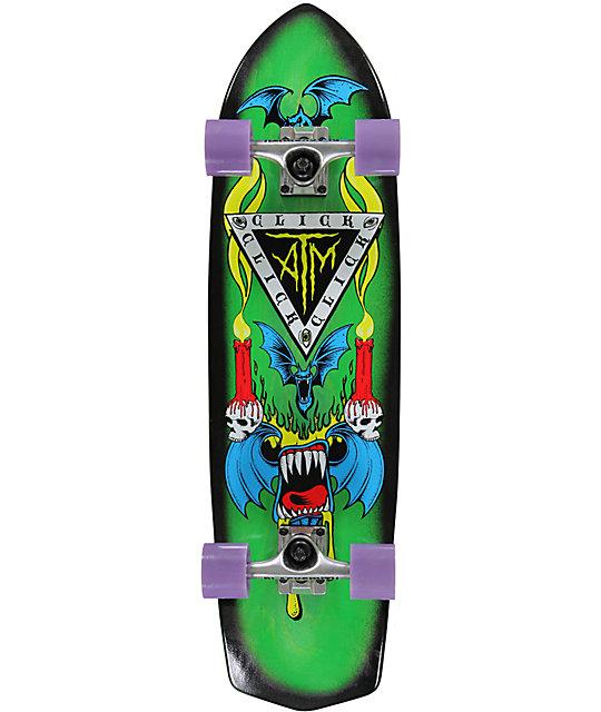 "ATM Bats 33.3""  Cruiser Complete Skateboard"
