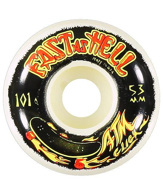 ATM Faster As Hell 53MM Skateboard Wheels