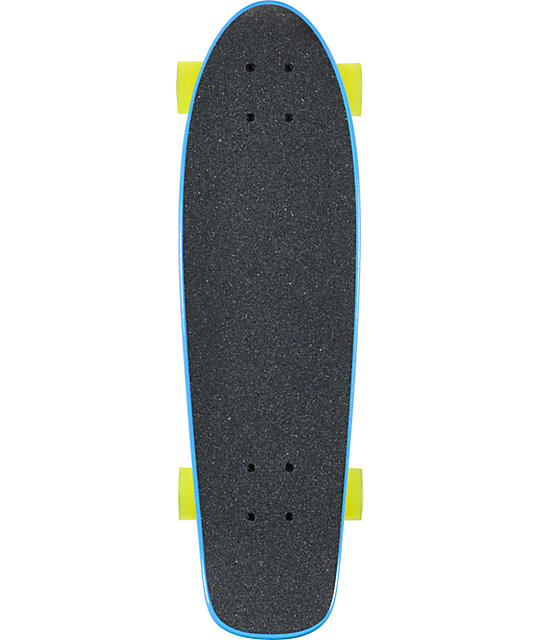 "ATM Hot Dog Blue 27""  Complete Cruiser Skateboard"