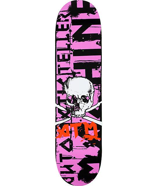 "ATM Neo Punk 8.0""  Skateboard Deck"