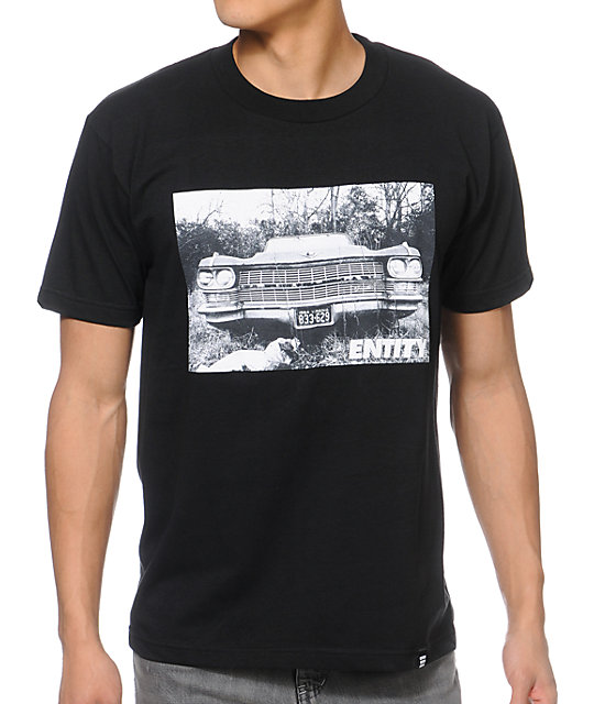 Ace of LA Old School Black T-Shirt