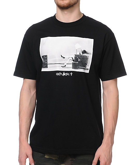 Acrylick Soundstation Black T-Shirt