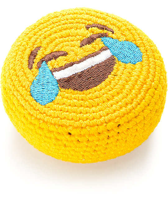Adventure Imports Emoji Laughing Crying Footbag