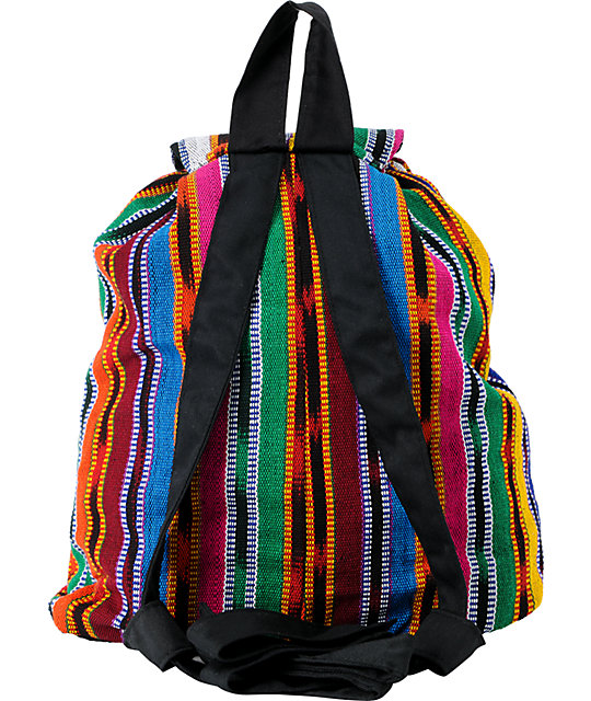 Adventure Imports Jasper Woven Cinch Backpack
