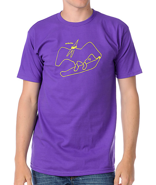 Airblaster Boarder Purple T-Shirt