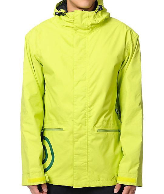 Airblaster Javier Slime Green 10K Snowboard Jacket