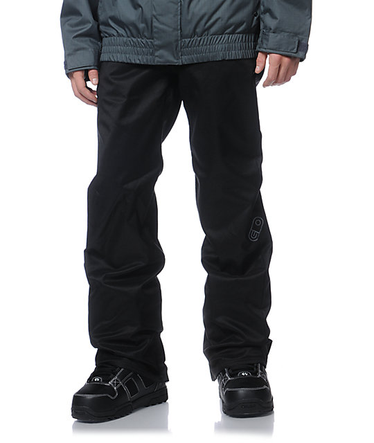 Airblaster Jed Anderson Black 5K Snowboard Pants