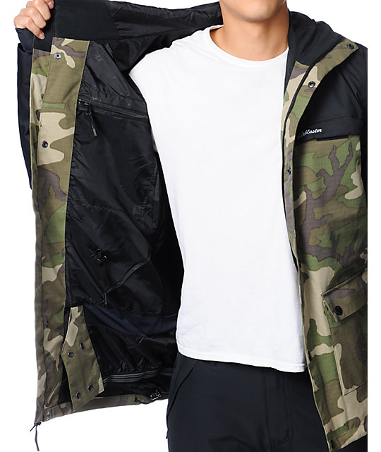 Airblaster Jed Anderson Camo Ripstop 10K Snowboard Jacket
