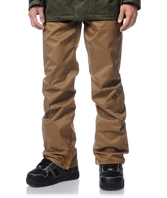 Airblaster Jed Anderson Khaki 5K Snowboard Pants