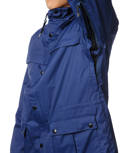Airblaster Jed Anderson Navy Blue 10K Snowboard Jacket