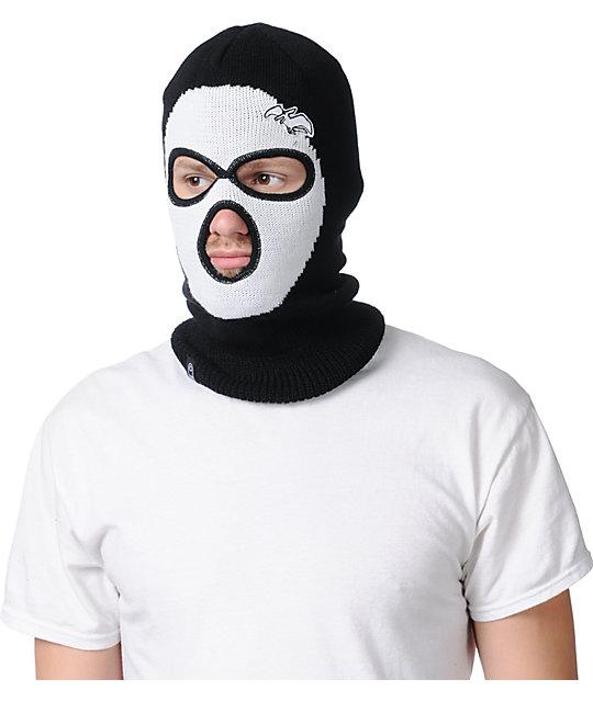 Airblaster Panda Zooface Black Face Mask