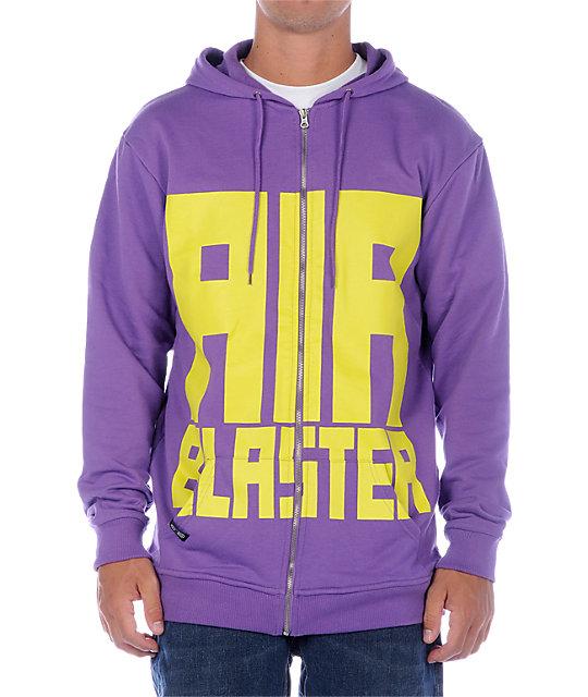 Airblaster Run Air Purple Hoodie