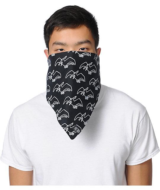 Airblaster Terry Black & White Face Mask Bandana
