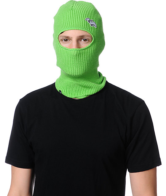 Airblaster Terryclava Green Face Mask