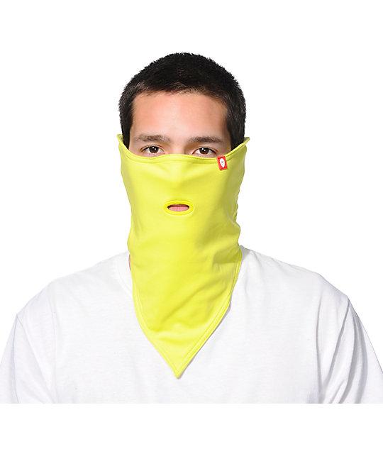 Airhole Standard 1 Eric Jackson Lime Green Face Mask