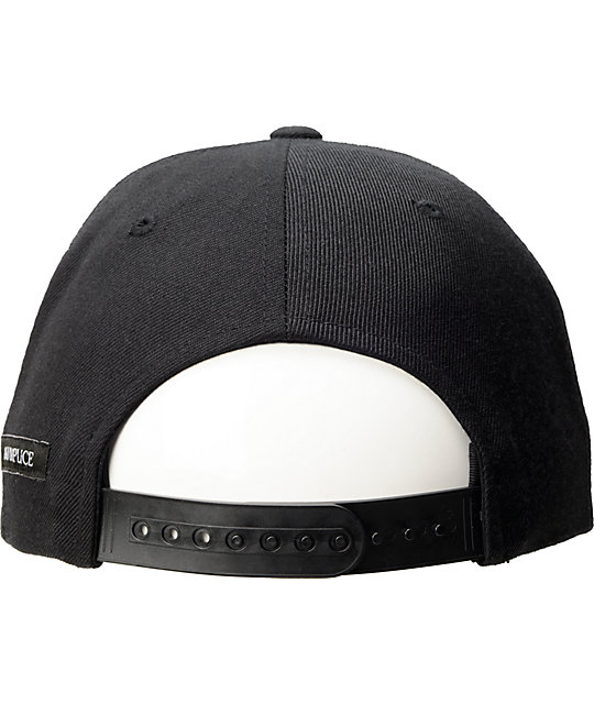 Akomplice Chronic Black Snapback Hat