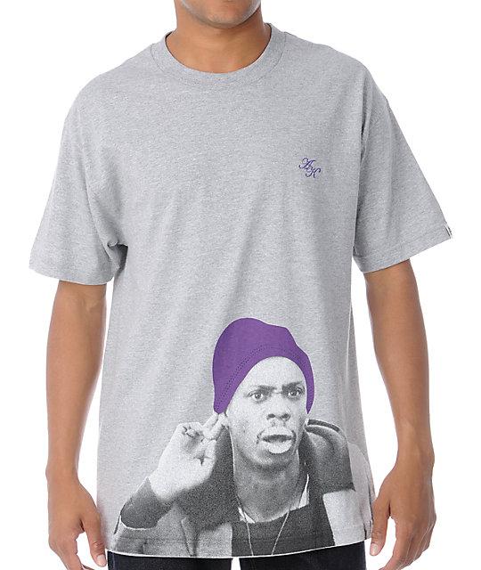 Akomplice Crack Heather Grey T-Shirt