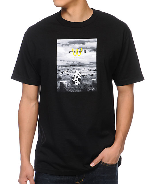 Akomplice Cutting It Black T-Shirt