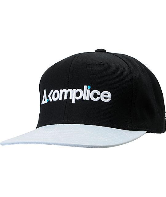 Akomplice Hyperlight Black Snapback Hat
