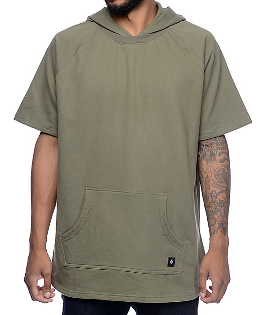 Hooded Short Sleeve Sweatshirt Photo Album - Reikian