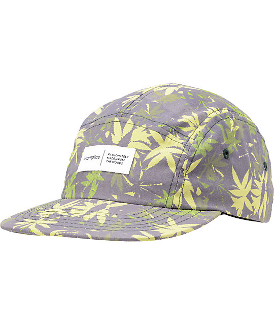 Akomplice Weed Camo 5 Panel Hat