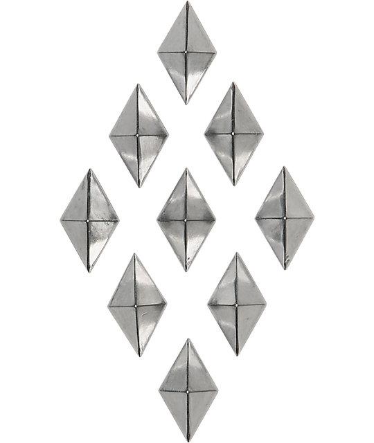 Alibi Diamond Silver Stomp Pad