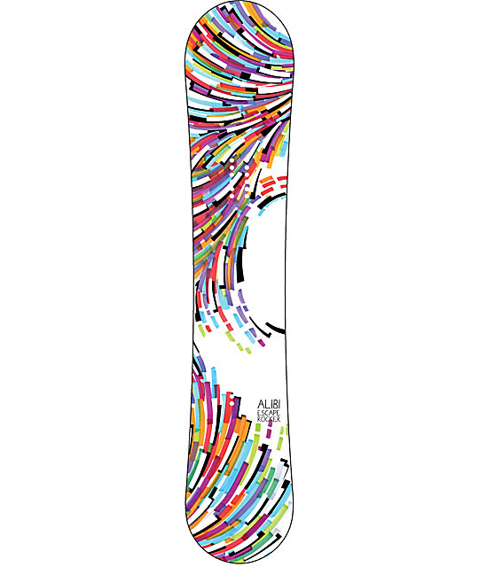 Alibi Escape 144cm Womens Rocker Snowboard