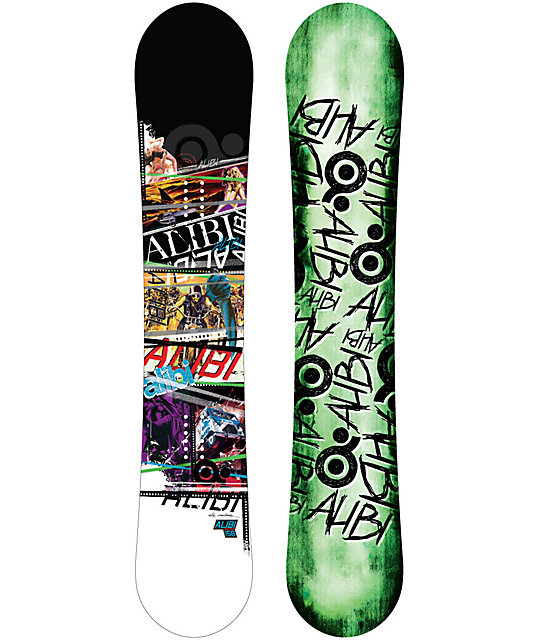 Alibi Sicter 154cm Mens Snowboard