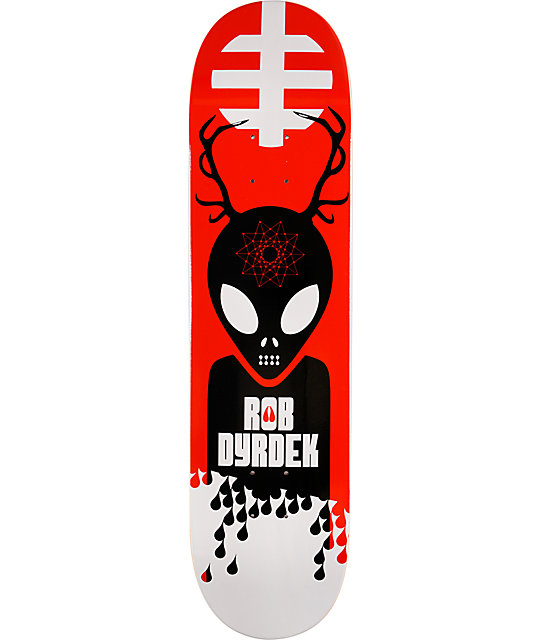 "Alien Workshop Antlers Dyrdek 7.9""  Skateboard Deck"