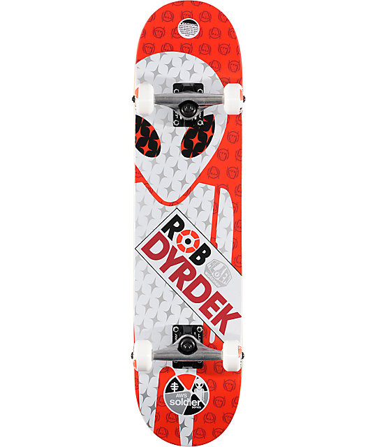 "Alien Workshop Dyrdek 7.6"" Soldier Complete Skateboard ..."