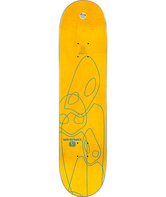 "Alien Workshop Dyrdek Ghost 7.75""  Skateboard Deck"