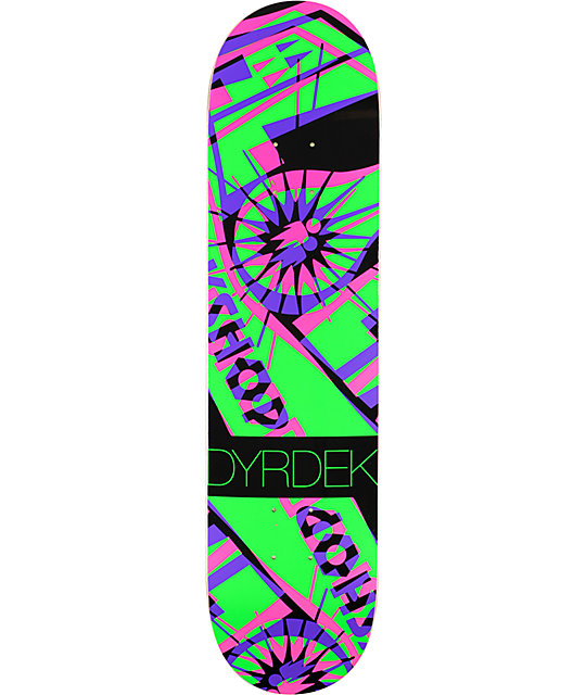 "Alien Workshop Dyrdek Hexmark Anaglyph 7.75"" Skateboard ..."