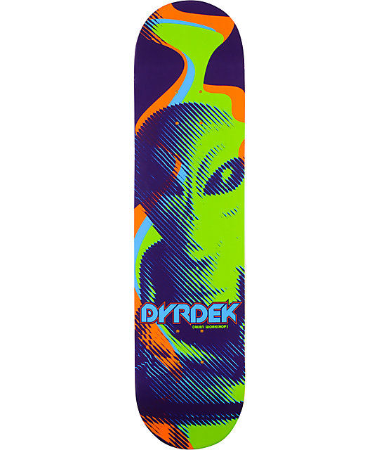 "Alien Workshop Dyrdek Overlord 7.75""  Skateboard Deck"