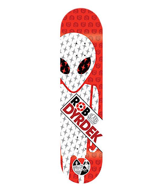 "Alien Workshop Dyrdek Soldier 7.6""  Skateboard Deck"
