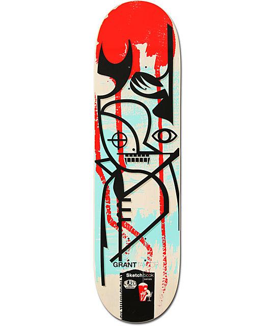 """Alien Workshop Grant Taylor Sketchbook 8.5""""  Skateboard Deck"""