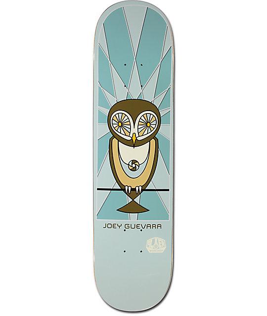 """Alien Workshop Guevara Owl 8.0"""" Skateboard Deck"""