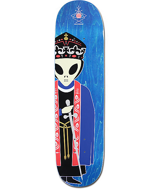 "Priest Deck: Alien Workshop High Priest 2 8.25"" Skateboard Deck At"
